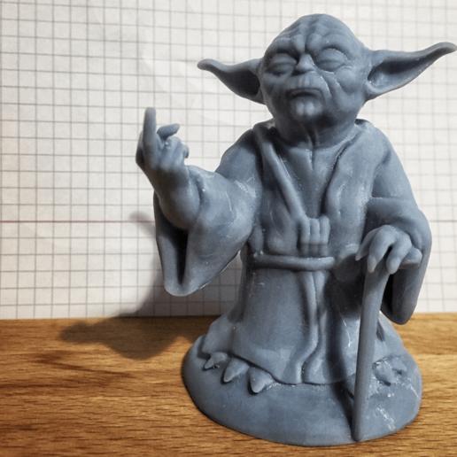 2.png Télécharger fichier STL gratuit Yoda, doigt du milieu • Objet imprimable en 3D, Dr4l3g