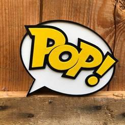 Descargar diseños 3D LOGOTIPO POP FUNKO, imprimans