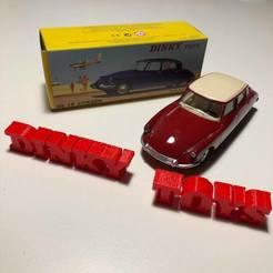 Télécharger fichier impression 3D gratuit Logo Dinky Toys , imprimans