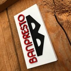 Imprimir en 3D Logotipo de Banpresto, imprimans