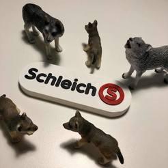Télécharger plan imprimante 3D gatuit LOGO Schleich , imprimans