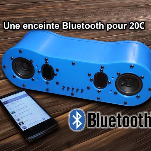 Download 3D printing files Bluetooth Speaker [Bluetooth Speaker], Crazymakers