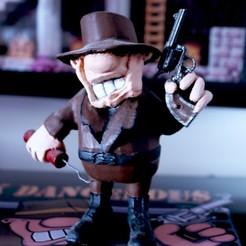 IMG_3485.JPG Télécharger fichier STL Rick Dangerous - Figurine • Design à imprimer en 3D, Crazymakers