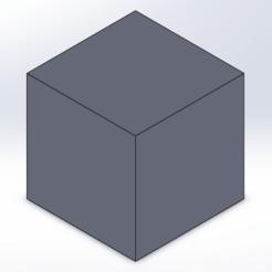 Descargar archivos STL Literalmente sólo una caja cuadrada, ayoprint