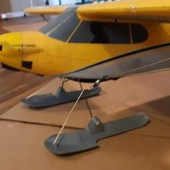 7811446F-B05B-44CD-AEF7-15A51CEA9D46.jpeg Download STL file Rc Airplane Skis • 3D printing design, MT_HOBBIES