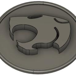 thundercats.png Télécharger fichier STL Logo des chats du tonnerre • Design imprimable en 3D, biniecki
