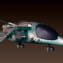SHIP 2.jpg Download STL file Spacecraft • 3D print model, josefaedda45