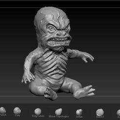 Captura.JPG Download STL file Alien lizard V series • 3D printable design, josefaedda45
