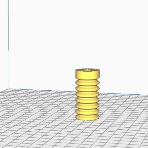 Descargar diseños 3D gratis Ressort amortisseur TPU, tedd3d