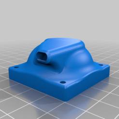 Télécharger plan imprimante 3D gatuit diffuseur refroidissement remplacement U20, tedd3d