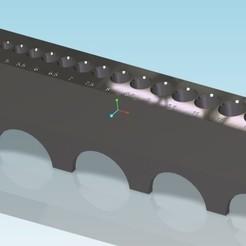 porte foret_design1.jpg Download STL file design Drill holder 1 stage - drill holder design 1 stage • Design to 3D print, tedd3d