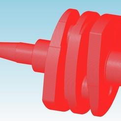 vilo_hd1.jpg Télécharger fichier STL Vilebrequin moteur 2cv 602 • Design pour imprimante 3D, tedd3d