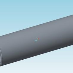 Télécharger fichier imprimante 3D gratuit Axe de piston moteur 2cv 602cc, tedd3d