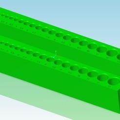 porte_foret_v2.jpg Download STL file Drill holder 2 stages - drill holder 2 stage • Template to 3D print, tedd3d