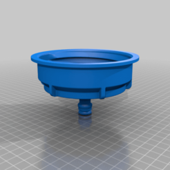 Download 3D printing files Water tank adapter S100X8 >> quick coupling S100 Adaptator, tedd3d