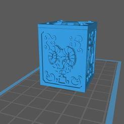 Descargar Modelos 3D para imprimir gratis caja de san seiya capricornio, franckeli