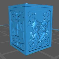 Impresiones 3D gratis caja de san seiya geminis, franckeli