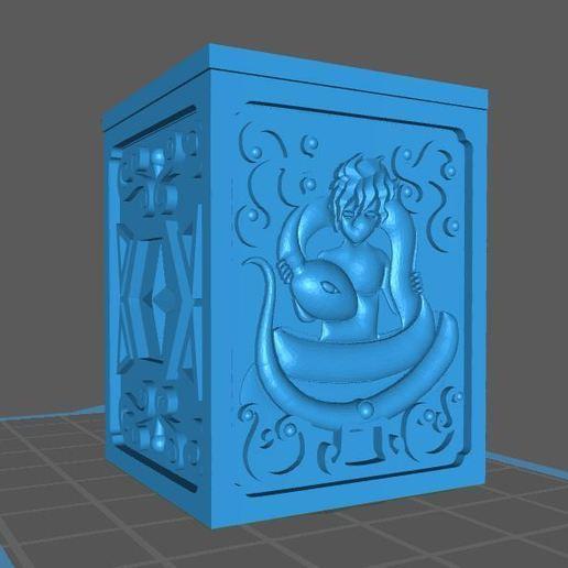 ofiuco.JPG Download free STL file saint seiya ofiuco oro box (reparado) • Object to 3D print, franckeli