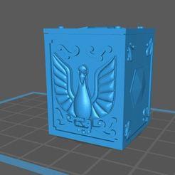 Impresiones 3D gratis saint seiya cisne box v2, franckeli