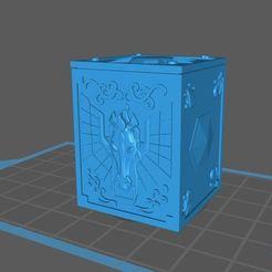 pegaso.JPG Download free STL file saint seiya pegaso box • 3D printer design, franckeli