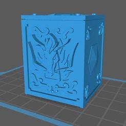 dragon.JPG Download free STL file saint seiya dragon box • 3D printing model, franckeli
