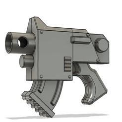 bolt pistol.jpg Télécharger fichier STL Pistolet à boulon Warhammer 40k à pleine échelle • Modèle imprimable en 3D, gwarsh41