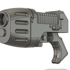 plasma.jpg Télécharger fichier STL Pistolet à plasma Warhammer 40k à pleine échelle • Modèle pour imprimante 3D, gwarsh41