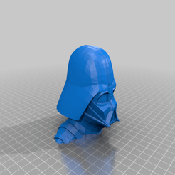 Download free 3MF file Darth Vader Bust - One Piece • 3D printing template, mforry