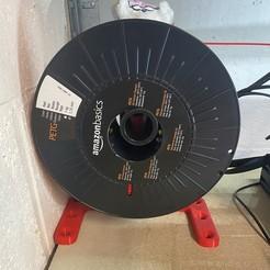 IMG_0059 1.jpg Télécharger fichier STL gratuit Support bobine extérieur à l'imprimante  • Objet pour impression 3D, Remedy