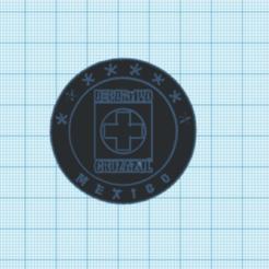 Télécharger modèle 3D Logo Croix Bleue, Danielzr