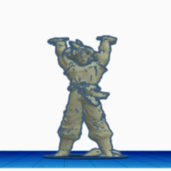 Descargar modelos 3D para imprimir Goku, Danielzr
