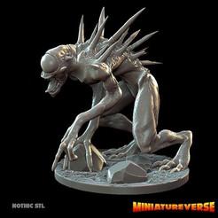 Descargar diseños 3D Juego Nothic Miniatura, Miniatureverse