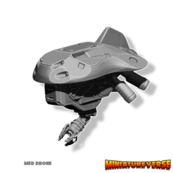 Descargar diseños 3D Dron Médico, Miniatureverse