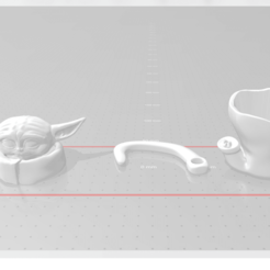 Download free 3D printing designs Baby Yoda, dealexphotography