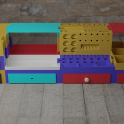 Download 3D printer files Modular 3d printing utility storage box, dealexphotography