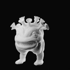 Télécharger plan imprimante 3D Le monstre de Corona, dealexphotography