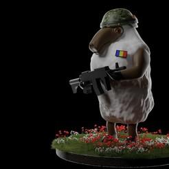 Télécharger fichier 3D Moutons de l'armée, dealexphotography