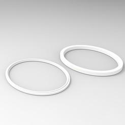 Télécharger fichier STL gratuit Bague d'adaptation pour écouteurs Sennheiser HD 59X • Design imprimable en 3D, V0ID