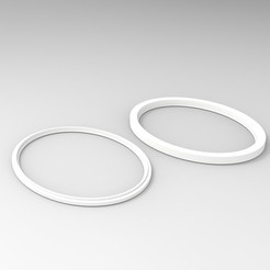 Download free 3D printer model Sennheiser HD 59X Earpad Adapter Ring, V0ID