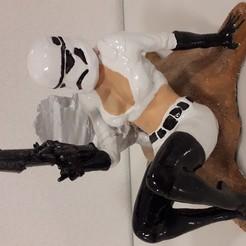 Descargar archivos 3D gratis Star Wars - escena de batalla, lankkuope