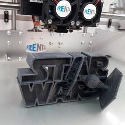 Descargar modelos 3D gratis ⭐⭐⭐⭐⭐⭐ Star Wars - Logotipo 3D, lankkuope