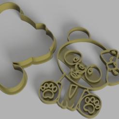 Osito.png Télécharger fichier STL Ourson en peluche à l'emporte-pièce • Plan imprimable en 3D, Calesim