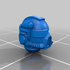 dev_helmet_62.png Télécharger fichier STL gratuit -DATE LIMITE - Pack de casques de l'équipe de la Dévastatrice • Modèle pour imprimante 3D, Klamps91