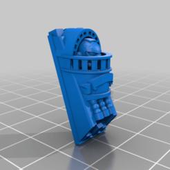venerablefront13.png Télécharger fichier STL gratuit Vénérables cuirassés • Objet imprimable en 3D, Klamps91