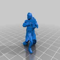 infantrycrouching.png Télécharger fichier STL gratuit DKoK low boi • Design pour imprimante 3D, Klamps91
