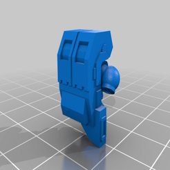 frantic_sango.png Download free STL file Heavy bolter backpack • 3D printing object, Klamps91