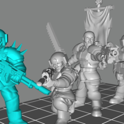 renegades.png Download free STL file -EDITED- renegade spaceguards pack plus more bois • 3D printer model, Klamps91