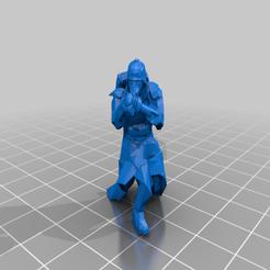 lightmortarloader.png Télécharger fichier STL gratuit DKoK Équipage de mortier léger • Modèle imprimable en 3D, Klamps91