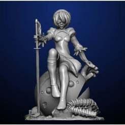 Download free 3D printing files Nier Automata, ivanherreraalgeciras1980