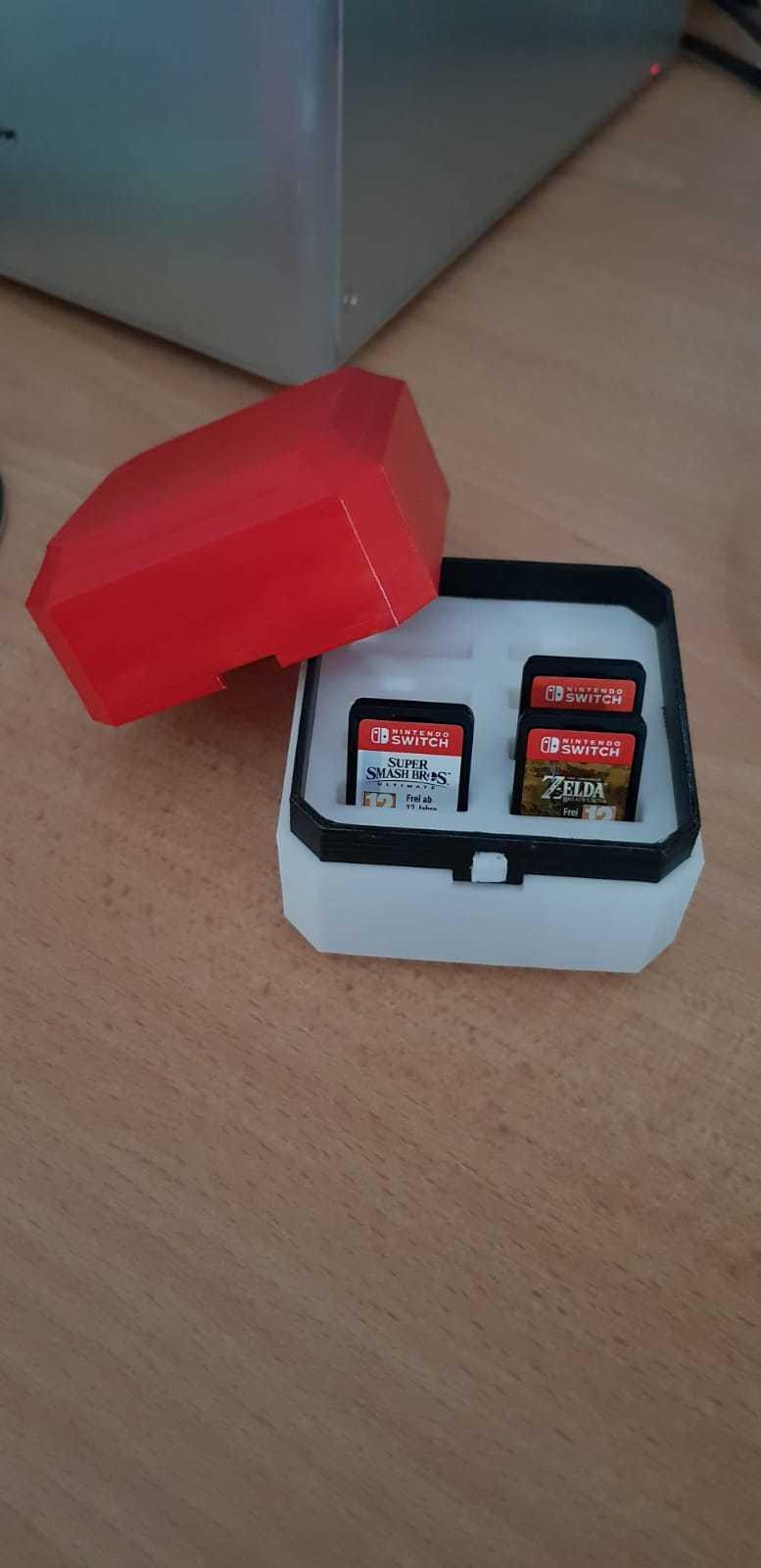 asd.jpeg Télécharger fichier OBJ gratuit Pokeball nintendo switch cartouches et sd • Objet pour impression 3D, Pdor